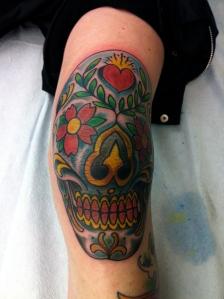 knee tatt